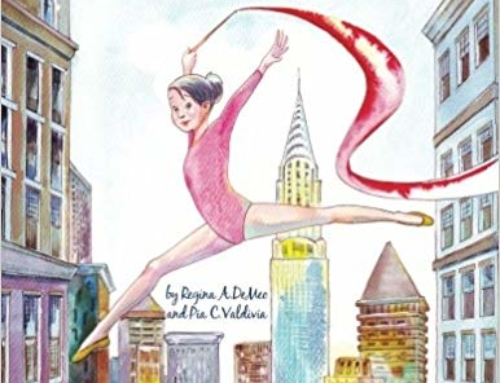 """Gina the Gymnast"" by Regina DeMeo available on Amazon"